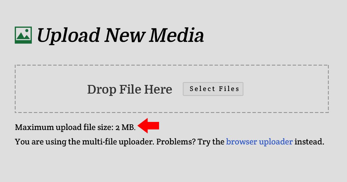 maximum-upload-file-size
